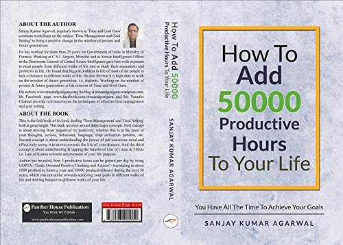 Panther House Publication - How To Add 50000 Productive Hours To Your Life
