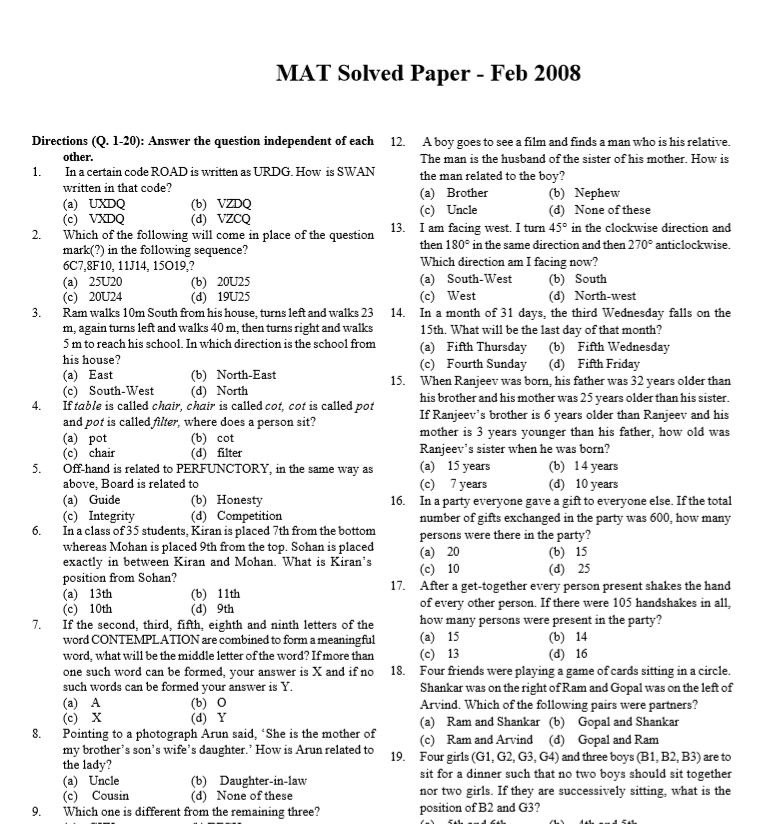 Jee main question papers 2019 with solutions (available.
